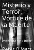 """Portada del libro """"Misterio y Terror: Vórtice de la Muerte"""""""
