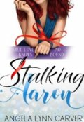"""Book cover """"Stalking Aaron"""""""