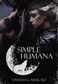 "Portada del libro ""Simple humana"""
