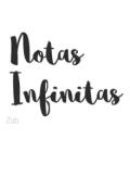 "Portada del libro ""Notas Infinitas """