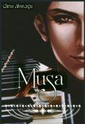 """Portada del libro """"Musa"""""""