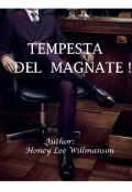 "Book cover ""Tempesta Del Magnate! ( Storm of the billionaire) """