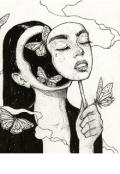 """Portada del libro """"La chica de los mil y un demonios """""""