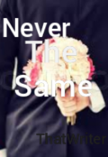 """Book cover """"Never The Same """""""