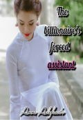 """Book cover """"The billionaire's forced assistant"""""""