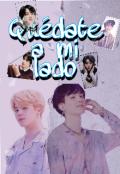 """Portada del libro """"Quédate a mi lado *-/yoonmin/-*"""""""