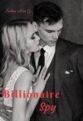 """Book cover """"Billionaire spy"""""""