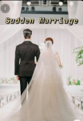 "Book cover ""Sudden Marriage """