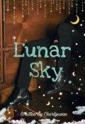 """Book cover """"Lunar Sky"""""""