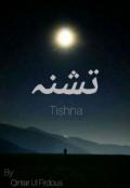 "Book cover ""Tishna تشنہ"""