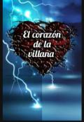 """Portada del libro """"El corazón de la villana"""""""