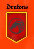 """Portada del libro """"Drakons"""""""