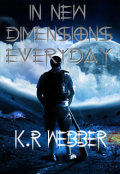 """Book cover """"In New Dimensions Everyday"""""""