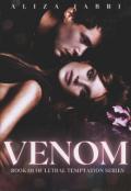 """Book cover """"Venom"""""""