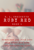"Book cover ""Ruby Red"""
