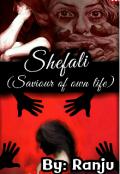 "Book cover ""Shefali (saviour of own life) """