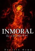 """Portada del libro """"Inmoral"""""""