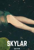 """Book cover """"Skylar"""""""