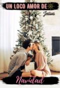 """Portada del libro """"Un loco amor de navidad (relato navideño)"""""""
