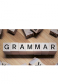 """Book cover """"Grammar Tips for Fiction Writers"""""""