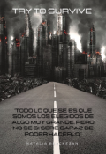 "Portada del libro ""Try to survive """