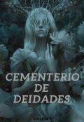 """Portada del libro """"Cementerio de deidades."""""""