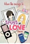 """Book cover """"Trust in Love"""""""