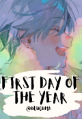 """Portada del libro """"First Day Of The Year"""""""