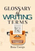 "Book cover ""Glossary of Writing Terms"""