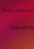 "Book cover ""Bitter sweet love"""