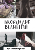 "Book cover ""Broken & Beautiful"""