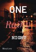 "Book cover ""One Rainy Night"""