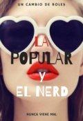 """Portada del libro """"La popular y el nerd"""""""