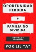"""Portada del libro """"Oportunidad Perdida - Familia no Dividida"""""""