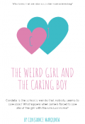 "Book cover ""The Weird Girl And The Caring Boy"""