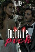 """Book cover """"The devil's pick"""""""