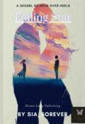 """Book cover """" Falling Star """""""