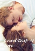 "Book cover ""Cruel trap of love """