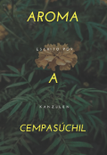"""Portada del libro """"Aroma a cempasúchil"""""""