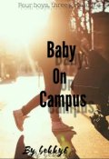 """Book cover """"Baby on campus """""""