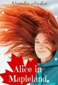 "Book cover ""Alice in Mapleland"""