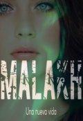 """Portada del libro """"Malakh (una nueva vida)"""""""
