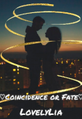 "Book cover ""♡coincidence or Fate♡"""