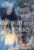 """Book cover """"Hiwaga and Alfonso"""""""