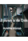 "Book cover ""A journey in the train """
