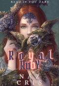 """Book cover """"Royal Ruby"""""""