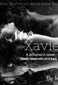 "Book cover ""Mrs Xavier. """