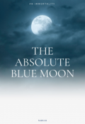 """Book cover """"The Absolute Blue Moon"""""""