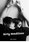 "Book cover ""Dirty Headlines"""