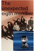 """Book cover """"The unexpected eigth member"""""""